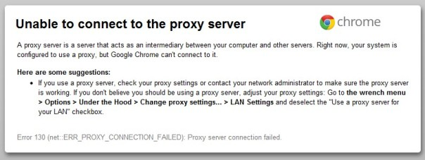 Google-Chrome-proxy