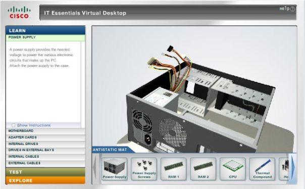 it virtual deks